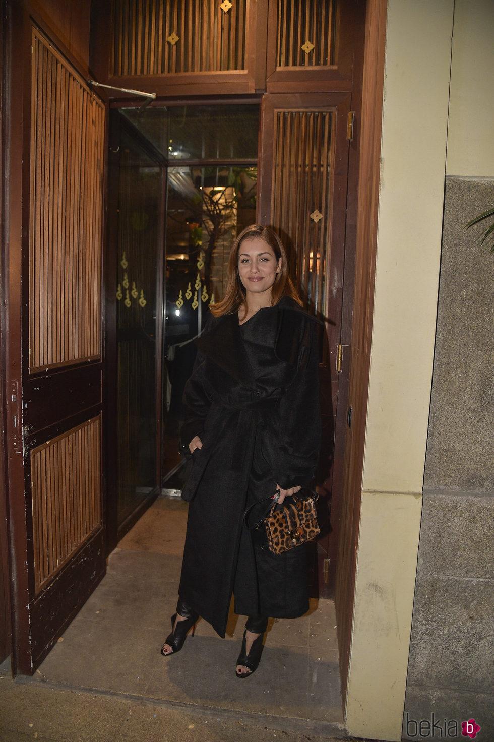 Hiba Abouk en el 63 cumpleaños de Bibiana Fernández