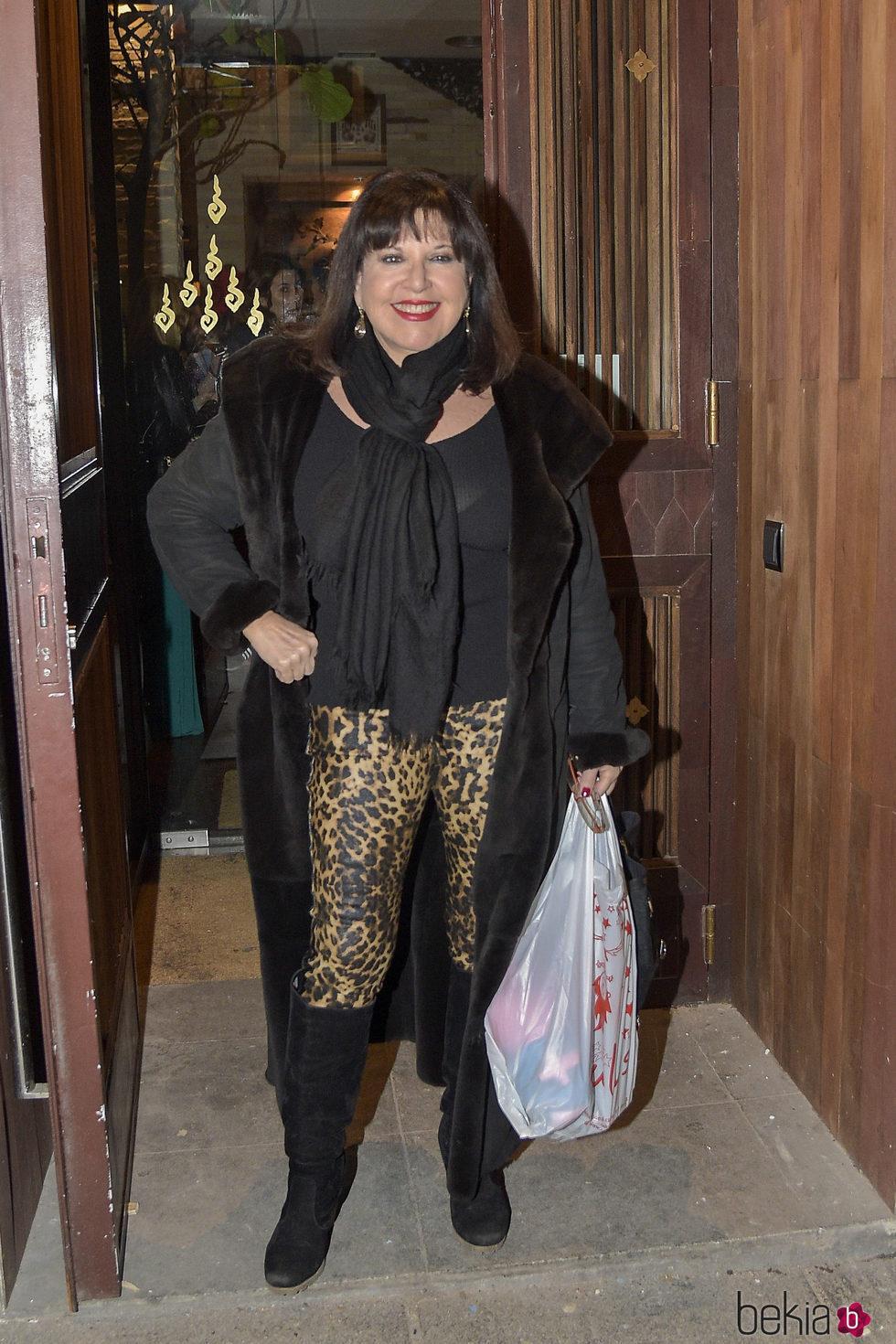 Loles León en el 63 cumpleaños de Bibiana Fernández