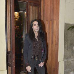 Mario Vaquerizo en el 63 cumpleaños de Bibiana Fernández