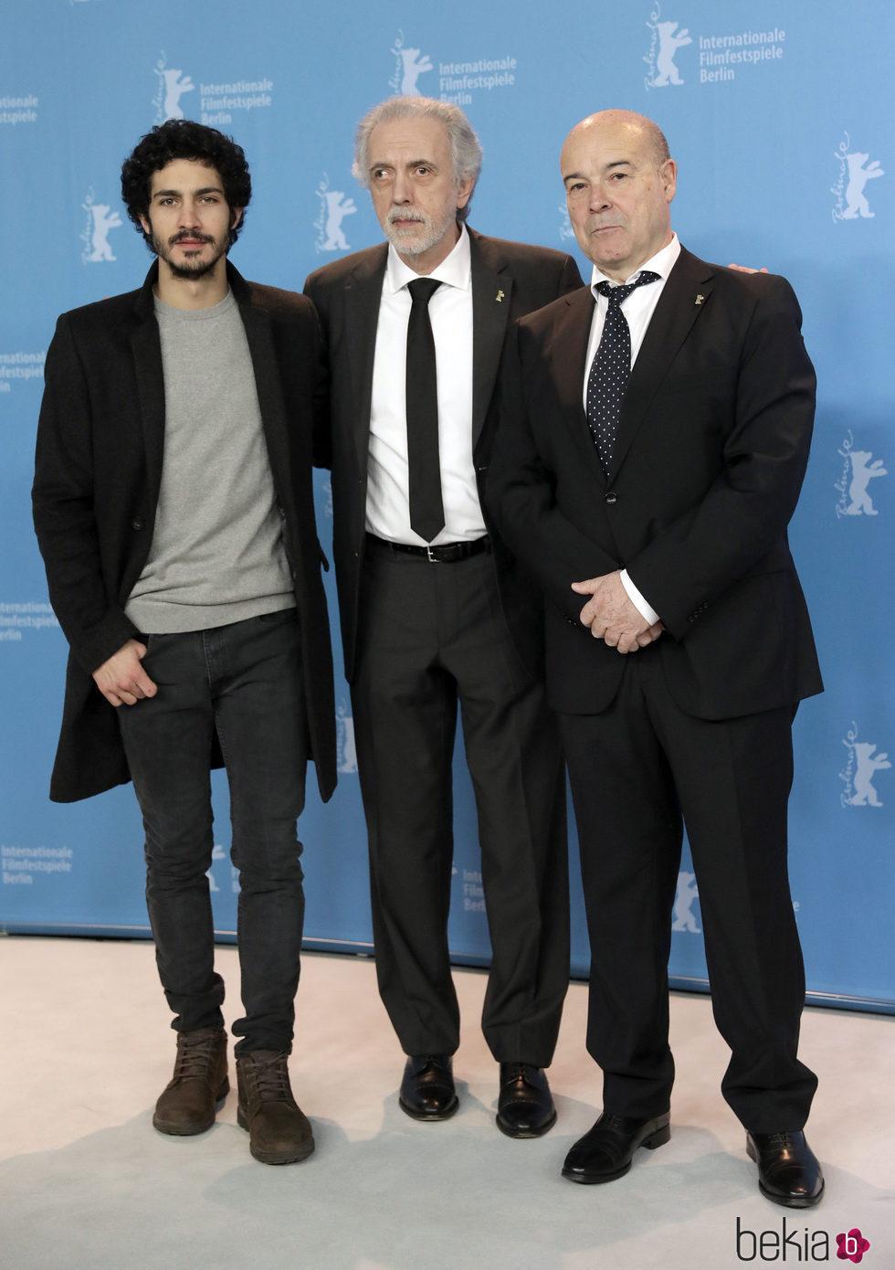 Chino Darín, Fernando Trueba y Antonio Resines presentan 'La Reina de España' en la Berlinale 2017