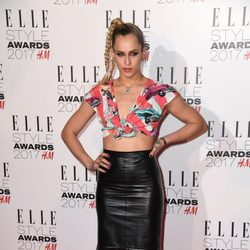Alice Dellal en los Elle Style Awards 2017