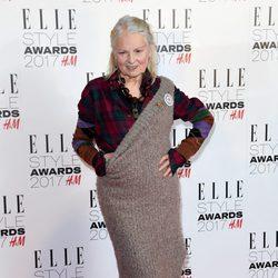 Vivienne Westwood en los Elle Style Awards 2017