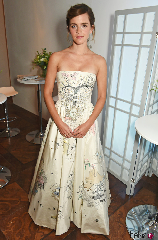 Emma Watson En Los Elle Style Awards 2017 Famosos En Los