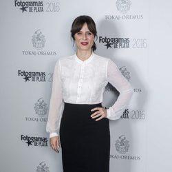 Aitana Sánchez Gijón en el acto de nominados de los Premios Fotogramas de Plata 2016