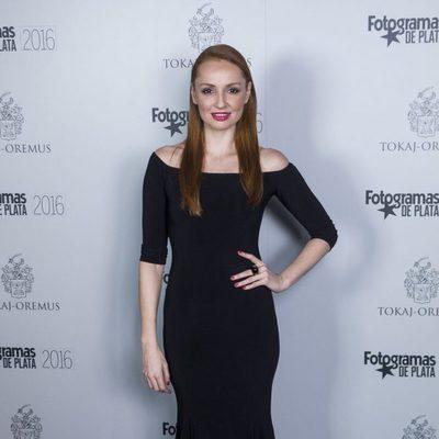 Cristina Castaño en el acto de nominados de los Premios Fotogramas de Plata 2016