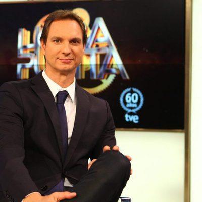Javier Cárdenas en la presentación de 'Hora Punta'