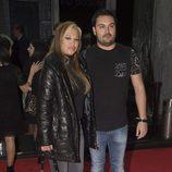 Belén Esteban y su novio Miguel Marcos en la fiesta del 10 aniversario de La Fábrica de la Tele