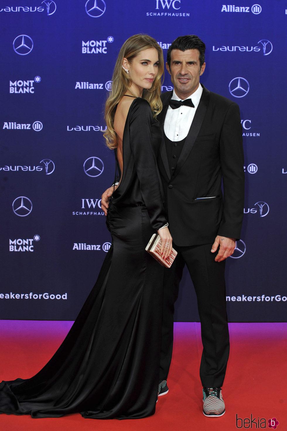 Luis Figo y Helen Sved...
