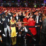 Alberto y Charlene de Mónaco, Hugh Grant y los ganadores de los Premios Laureus 2017