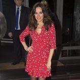 Carmen Alcayde en la fiesta del 10 aniversario de La Fábrica de la Tele
