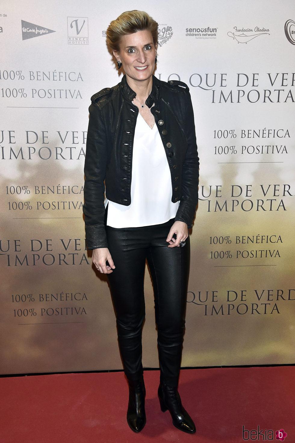María Zurita en la Premiere de 'Lo que de verdad importa'