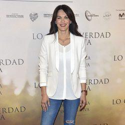 Fabiola Martínez en la Premiere de 'Lo que de verdad importa'