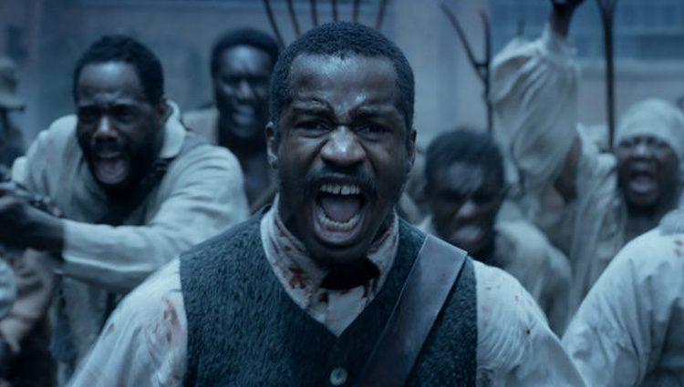 Nate Parker protagonizando 'El Nacimiento de una Nación'