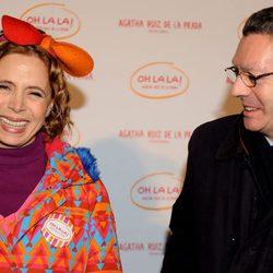 Ágatha Ruiz de la Prada y Alberto Ruiz Gallardón en 2009