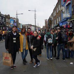 El reencuentro de Yoli y Jonathan ('GH15')  y Susana y Gonzalo ('GH14') por Londres