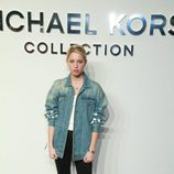 Olympia de Grecia en el desfile de Michael Kors en Nueva York Fashion Week otoño/invierno 2017/2018