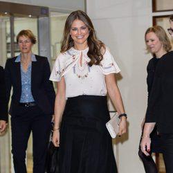 Magdalena de Suecia estrena agenda oficial en Londres