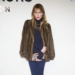 Erin Wasson en el desfile de Michael Kors en Nueva York Fashion Week otoño/invierno 2017/2018