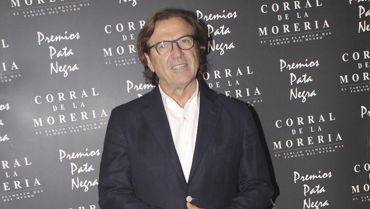 Pepe Navarro en la entrega de los Premios Pata Negra 2017
