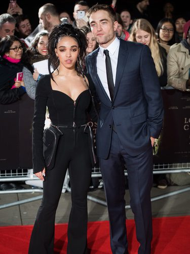 Robert Pattinson y su novia FKA Twigs en la Premiere 'The Lost City Of Z'