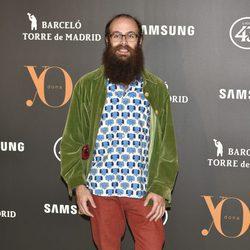 Tristán Ramírez en la Fiesta Yo Dona de inicio de Madrid Fashion Week otoño/invierno 2017/2018