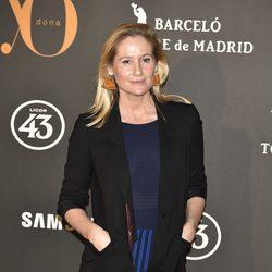 Fiona Ferrer en la Fiesta Yo Dona de inicio de Madrid Fashion Week otoño/invierno 2017/2018