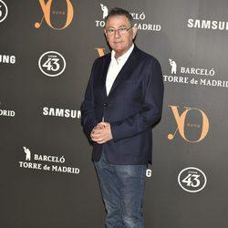 Roberto Verino en la Fiesta Yo Dona de inicio de Madrid Fashion Week otoño/invierno 2017/2018