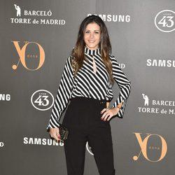 Sandra Blázquez en la Fiesta Yo Dona de inicio de Madrid Fashion Week otoño/invierno 2017/2018