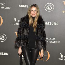 Carola Baleztena en la Fiesta Yo Dona de inicio de Madrid Fashion Week otoño/invierno 2017/2018