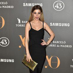 Natalia Rodríguez en la Fiesta Yo Dona de inicio de Madrid Fashion Week otoño/invierno 2017/2018