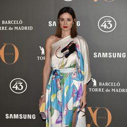 Dafne Fernández en la Fiesta Yo Dona de inicio de Madrid Fashion Week otoño/invierno 2017/2018