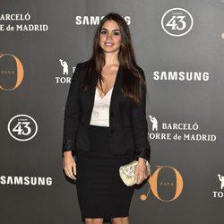 Elena Furiase en la Fiesta Yo Dona de inicio de Madrid Fashion Week otoño/invierno 2017/2018