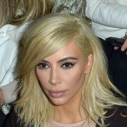 Kim Kardashian en la Paris Fashion Week 2015