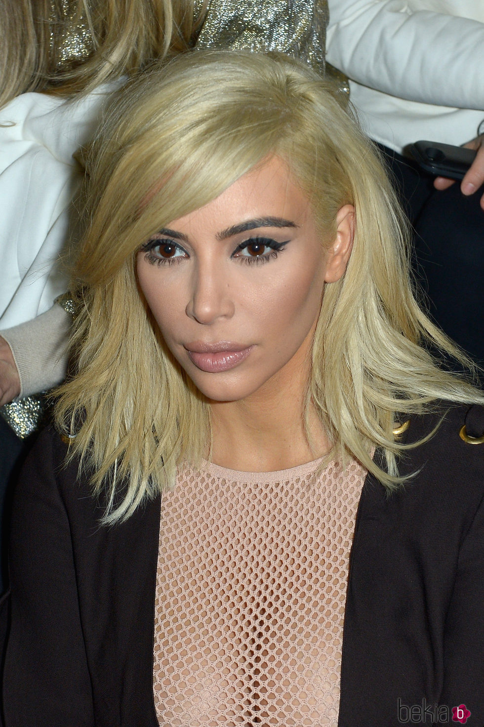 Kim Kardashian en la Paris Fashion Week 2015