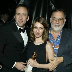 Nicolas Cage, Sofia Coppola y Francis Ford Coppola