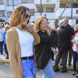 Gloria Camila y Rocío Flores en el homenaje a Rocío Jurado