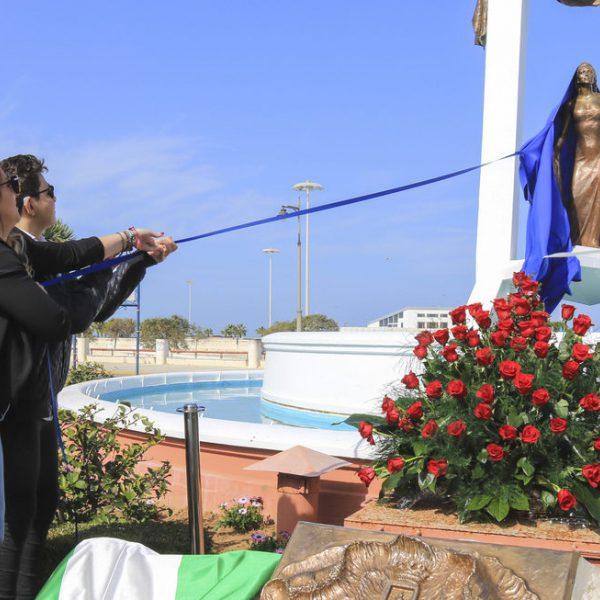 La familia de Rocío Jurado unida durante un homenaje
