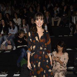Marina San José en el desfile de la firma Ailanto en la Madrid Fashion Week 2017/2018