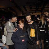 Rafael Amargo en el desfile de la firma Custo Barcelona en la Madrid Fashion Week 2017/2018
