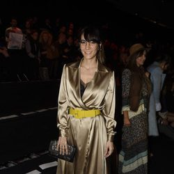 Cecilia Gessa en el desfile de la firma The 2nd Skin en la Madrid Fashion Week 2017/2018