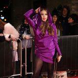 Xenia Tchoumitcheva en la fiesta de la fundación Naked Heart Foundation en Londres