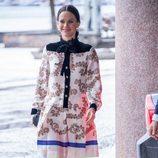 Sofia Hellqvist en el Ayuntamiento de Estocolmo con motivo de la Visita de Estado del Gobernador de Canadá