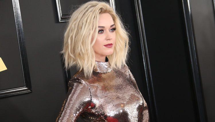 Katy Perry en los premios Grammy 2017