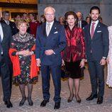 El Gobernador de Canadá, su esposa, los Reyes de Suecia y los Duques de Värmland en Estocolmo