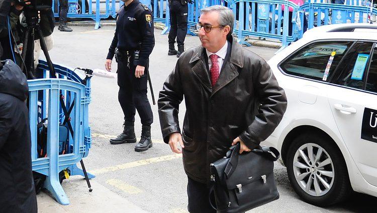 Diego Torres llega a la vistilla en la que se deciden las medidas cautelares contra él