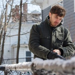 Casey Affleck en su papel de Lee Chandler en 'Manchester frente al mar'