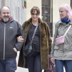Natalia Verbeke celebrado su 42 cumpleaños con Jorge Calvo y Virginia Rodríguez