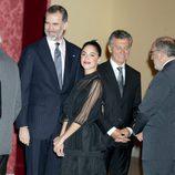 Tini Stoessel en la cena de despedida al Presidente de Argentina Mauricio Macri y Juliana Awada