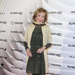 María Teresa Fernández de la Vega en la fiesta del primer aniversario de Magazine Fashion & Arts
