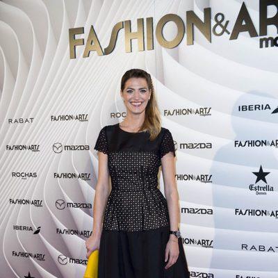 Laura Sánchez en la fiesta del primer aniversario de Magazine Fashion & Arts